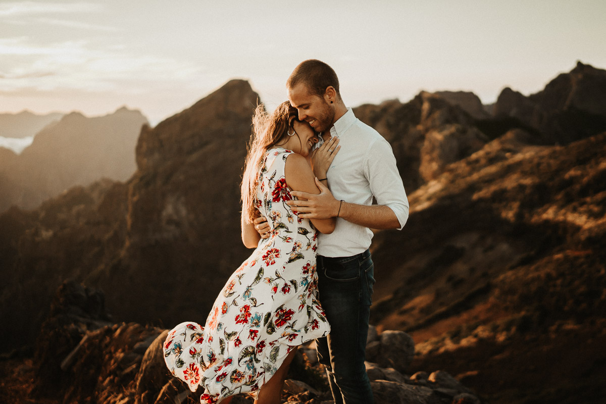 destination shooting pico do arieiro madeira engagement - karina sowa