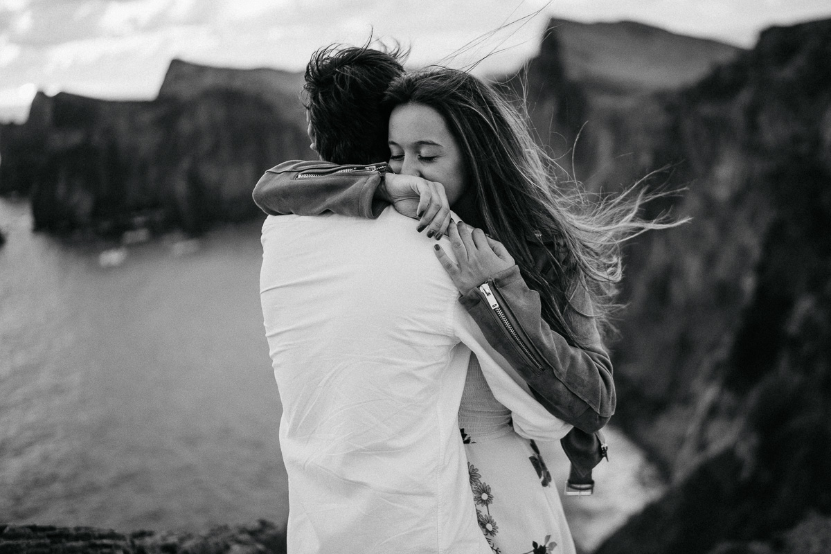 couple shooting madeira destination photographer sunrise - karina sowa fotografie